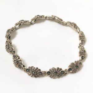Judith Jack Marcasite Bracelet
